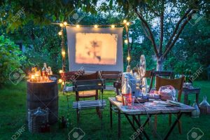 Rv Park Movie Night